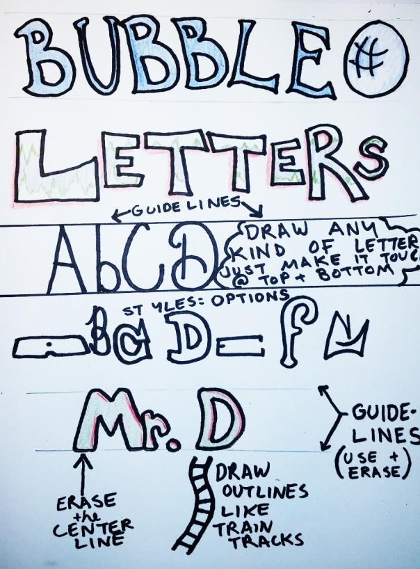 letter sketchnotes